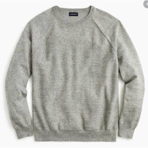 New J.Crew Slim Rugged Cotton Sweater Size S